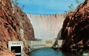 Postcard Hoover Dam Nevada