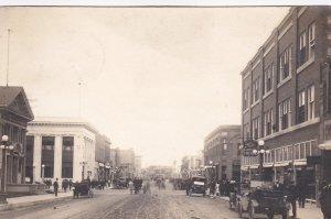 RP: Main Street , WEYBURN, Saskatchewan , Canada , PU-1912