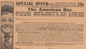 The AMERICA BOY Magazine , PMC 1898