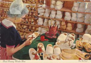 Hand Painting Wooden Shoes Wooden Shoe Factory Holland Michigan