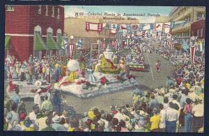 Aquatennial Parade Minneapolis MN unused c1949
