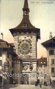 Bern Swizerland, Schweiz, Svizzera, Suisse Zeitglockenturm  Zeitglockenturm