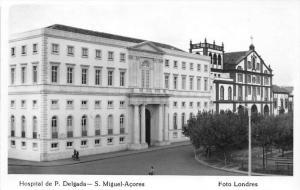 Azores Sao Miguel   Hospital de P. Delgada