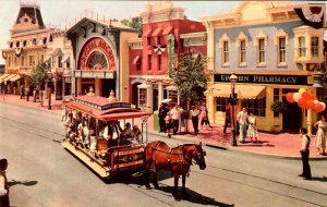CA - Anahein. Disneyland, Upjohn Drug Store and Main Street