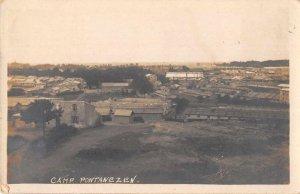 Camp Pontanezen Brest France Birds Eye View Real Photo Vintage Postcard JI658350
