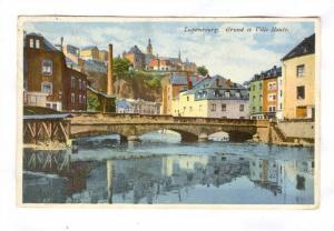 Grund Et Ville Haute, Bridge, Luxembourg, 1900-1910s
