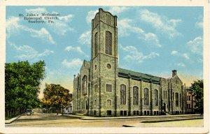 PA - Sunbury. St John's Methodist Episcopal Church