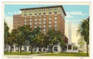 Hotel Savannah,Savannah,Georgia ,1910-20s