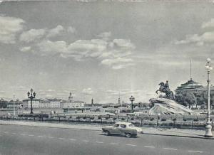 Leningrad , Russia , 50-70s ; Decembrists square