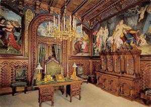 Koenigsschloss Neuschwanstein Arbeitszimmer, Royal Castle Study Room Chateau