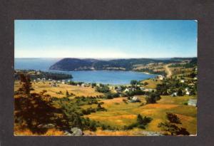 NS Sandy Cove Village Digby Neck Nova Scotia Canada Carte Postale Postcard