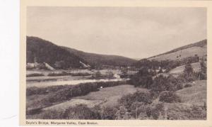 Doyle's Bridge, Margaree Valley, Cape Breton, Nova Scotia, Canada, 1910-1920s