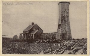 SCITUATE , Massachusetts , 1900-10s ; The Old LIGHTHOUSE #2
