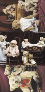 Teddy Bear Families Wonderful World Of Teddies 3x Postcard s