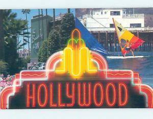 Pre-1980 TWO VIEWS ON CARD Beverly Hills & Hollywood - Los Angeles CA ho7429