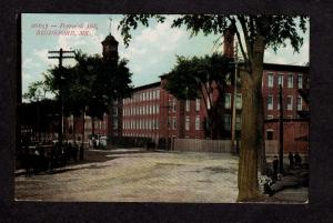 ME Pepperell Textile Mill Factory Plant Biddeford Maine Postcard Vintage PC