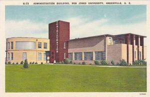 Administration Building, Bob Jones University, Greenville, South Carolina, 30...