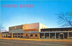 Brooklyn NY Chrystal Motors Oldsmobile Cars Dealership Postcard