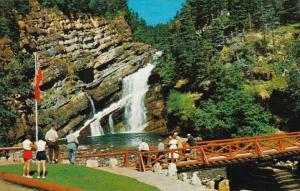 Canada Alberta Cameron Falls In Waterton Lakes