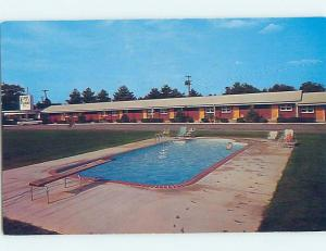 Pre-1980 MOTEL SCENE Greenville South Carolina SC G7553