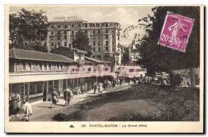 Old Postcard Chatel Guyon Grand Hotel
