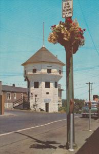 The Bastion and Flower Baskets, Nanaimo, British Columbia, Canada, 40-60s