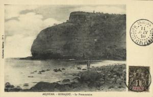 comoros comores, Sultanate of Ndzuwani ANJOUAN, Le Promontoire (1910) Postcard