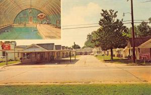 Arkadelphia Arkansas College Inn Motel Multiview Vintage Postcard K90886