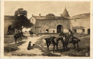 CPA BRUNET HOUARD Boute Selle de cuirassiers. Salon 1906 (286851)