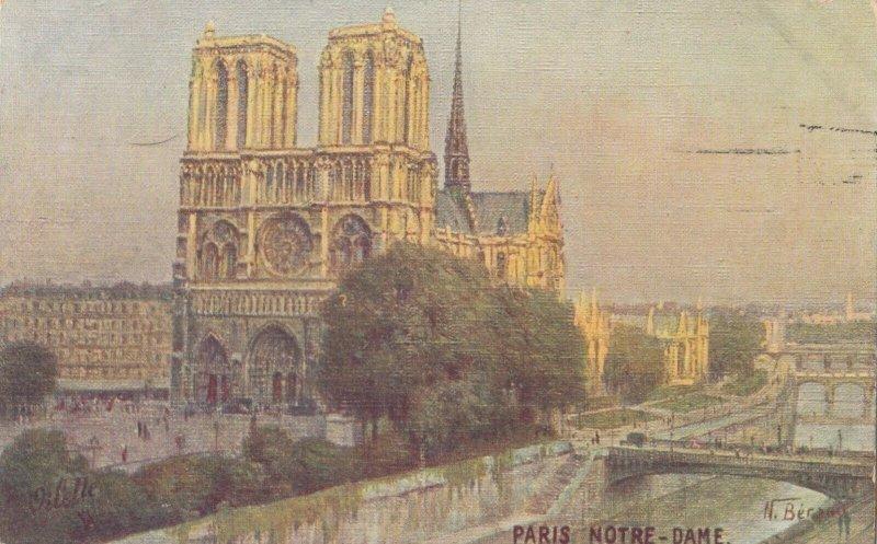 PARIS, France, 1900-10s; Notre Dame , TUCK #27