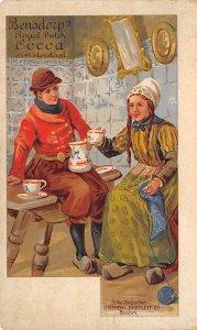 Advertising Post Card Bensdorps' Royal Dutch Cocoa Amsterdam Unused