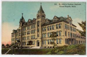 St John's Orphan Asylum, Grand Rapids MI