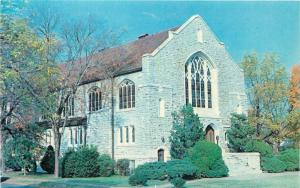 Clarksville Arkansas~Raymond Munger Memorial Chapel~1950s Postcard