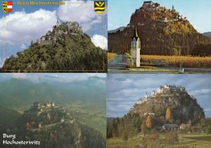 Burg Hochosterwitz Austria Special Postmark See Reverse 4x Postcard s