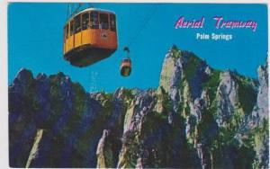 Aerial Tramway Cars, Mountain Station, Chino Canyon, Palm Springs, California...
