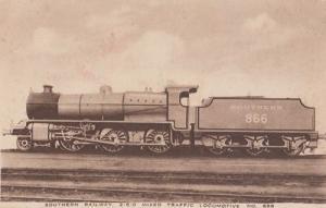 Southern Railway Mixed Traffic Antique Train Postcard