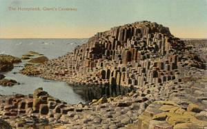 IRELAND-GIANT'S CAUSEWAY~HONEYCOMB-PARLOUR-ORGAN-WELL~LOT OF 4 POSTCARDS