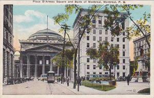 Place D'Armes Square and Bank of Montreal,  Montreal, Canada, 00-10s