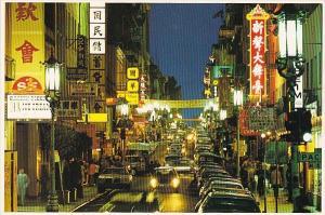 Chinatown San Francisco California