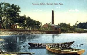Pumping Station Wenham Lake MA Unused