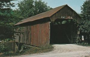 Rich Valley Covered Bridge near Sharon, Noble County, Ohio