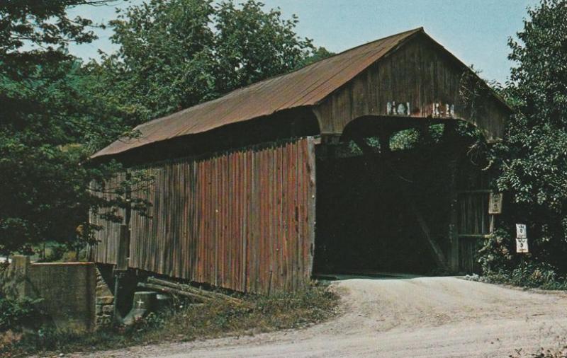 Rich Valley Covered Bridge near Sharon, Noble County, Ohio