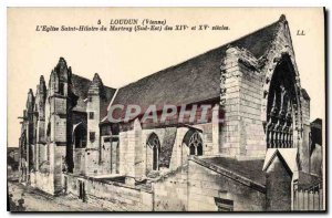 Postcard Old Loudon Vienna church Saint Hilaire du Martray Southeast XIV and ...