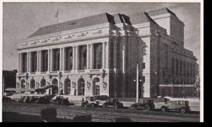 California San Francisco War Memorial Opera House
