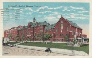MEMPHIS , Tennessee, 1910-20s ; St. Joseph's Hospital