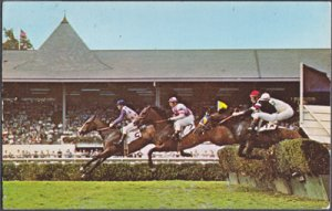 Saratoga Springs NY - STEEPLECHASING at its finest 1960s
