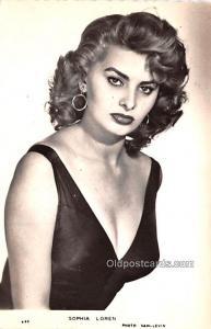Sophia Loren Movie Star Actor Actress Film Star Postcard, Old Vintage Antique...