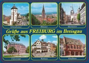 Germany Gruesse Aus Freiburg im Breisgau Multi View
