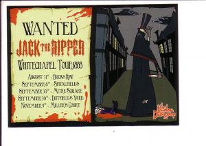 Wanted Jack the Ripper, Whitechapel Tour 1888. The London Dungeoy Poster