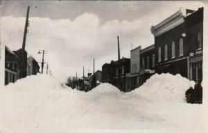 RP: THESSALON , Ontario , 10-30s ; Main Street during Winter